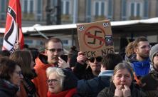 Dresden, 13. Februar, Protest, Demo