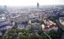 Leipzig, Matthäikirchhof, Stadtplanung, Matthäikirche