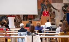 Frauenkonferenz im Dreikönigsforum Dresden © Frauenarbeit/I.Richter