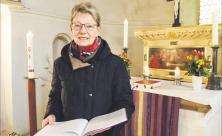Beate Zetzsche möchte in Großpösna sonntags mit weiteren Gemeindegliedern die Kirche öffnen                     <div class=