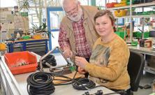 In der Werkstatt für behinderte Menschen in Rebesgrün kennt jeder Heinz Wüst und sein Rat ist nach wie vor gefragt                     <div class=