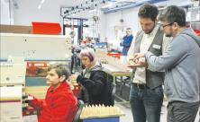 Montagehalle der Werkstatt des Wichernhauses