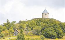 Kapelle auf dem Kupferhügel (Vrch Mĕdník) nahe Oberwiesenthal