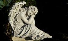Engel Grabmal Grab Friedhof