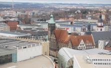 Chemnitz Stadtkirche Panorama