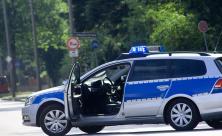 Polizeiauto Streife