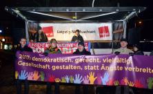 Gegendemonstration zu Legida im Januar 2017