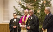 v.l.n.r.: Erzbischof Dietrich Brauer aus der Evangelisch-Lutherischen Kirche in Russland                     <div class=