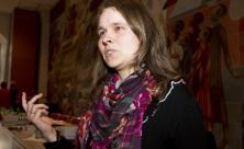 Bettina Westfeld hat die Geschichte der Diakonie aufgearbeitet. @ Bernd Heinze