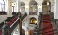 Treppenaufgang im Neuen Rathaus © Stadt Leipzig