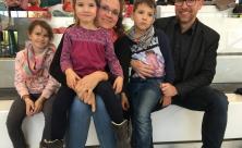Gemeindebibeltag ist ein »Muss«: Familie Jacob aus Markneukirchen ist zum dritten Mal in Glauchau dabei.