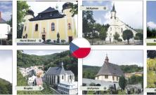 Diese acht Kirchen und Kapellen auf böhmischer Seite tragen den Welterbe-Titel der Montanregion Erzgebirge/Krušnohoří.