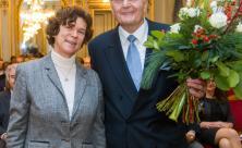 Beate Schücking und Dr. Wolfgang Scheuffler