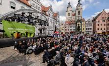 Marktplatz Wittenberg Reformationsjubiläum